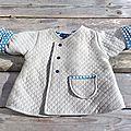 petit manteau léger pour petit monsieur - <b>Intemporel</b>