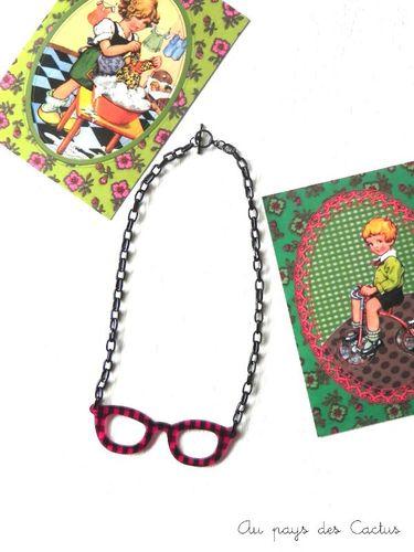 Collier lunettes Be Bop Au pays des Cactus
