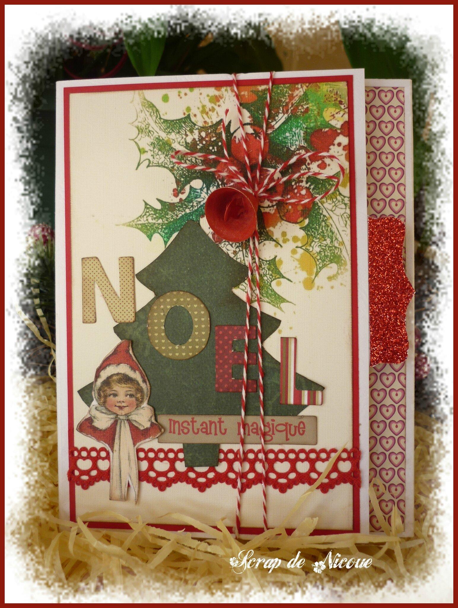Un mini-album : Noël magique ...
