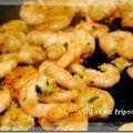 Ma recette du dimanche: mes crevettes à l'ail!!!