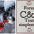<b>Sapin</b> Home déco et étiquettes Flocons 7 et 8 décembre Les lutins 2019 FORUM CLEAN ET SIMPLE