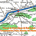 Prieuré de Notre-Dame de Bois-Rahier ou Grandmont-lez-Tours, domaine des Plantagênet.