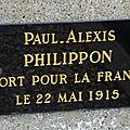 PHILIPPON Paul (Levroux) + 22/05/1915 Regnieville (54)