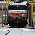BB 7304 sous la neige, Bordeaux
