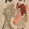 Scholten Japanese Art presents 'The Baron J. Bachofen von Echt Collection of Golden Age Ukiyo-e'