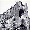 Des prisonniers de guerre <b>canadiens</b> massacrés à l'Abbaye d'Ardenne.