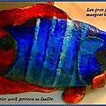Dicton : les gros poissons mangent les petits - au premier avril, poisson se fauile
