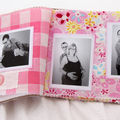 Album photos en tissus pour petites photos !