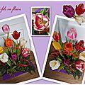 Composition florale de janvier