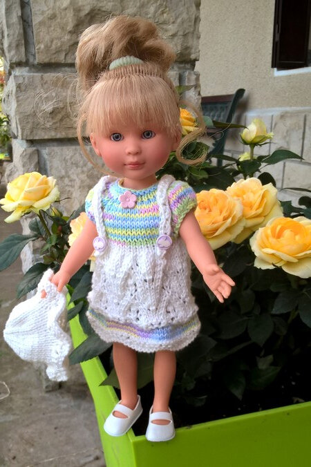 Lyouba robe à bretelles Louise avril 2018 photo 01