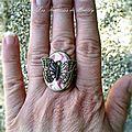 Les Fées Papillons, Bague 12€ [VENDU]