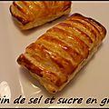 Feuilleté aux fromages