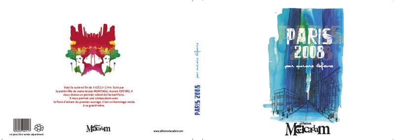 couverture du livre Paris - 2008