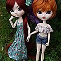 Mes jolies au jardin