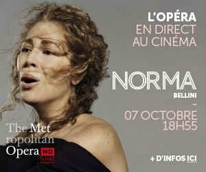 2 places à vendre pour la retransmission en direct l'Opera Norma