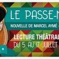 Le passe muraille aux Ateliers d'Amphoux (Off Avignon) du 6 au 17 juillet