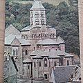 Orcival - église romane datée 1996