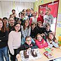 Joyeux anniversaire ! Année scolaire 2015 ~ 2016