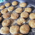 Soirée rambo, biscuits musclés au cumin