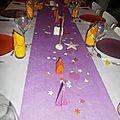 24 en violet et orange