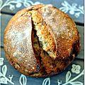 Pain au levain blé et quinoa aux noix