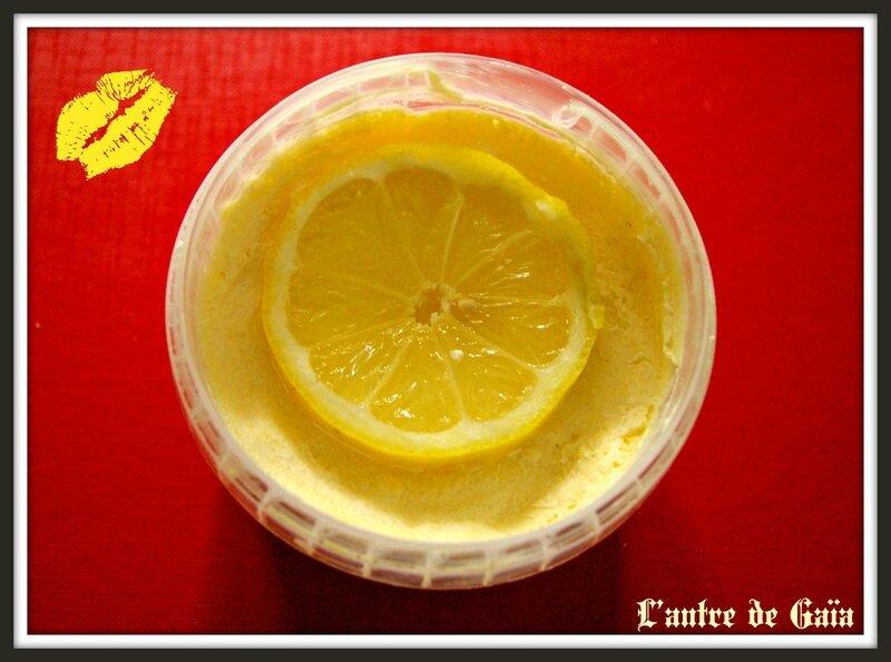 Cake vaisselle au citron, enrichi en SLSA- Test MaCosmetoPerso