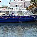 bateau le grand bleu safari dauphins (euh sans dauphin)
