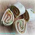 P'tit wrap avocat saumon
