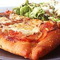 Pizza reine ou *regina* (encore un peu d'italie dans nos assiettes)