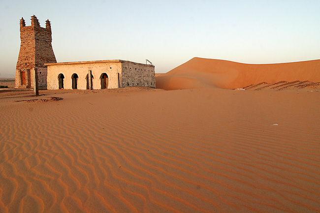 la petite mosquée du désert