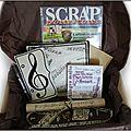 Scrap box de juin 2013 : en avant la musique