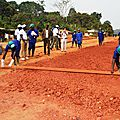 Kumba-Mamfe Road construction kicks off