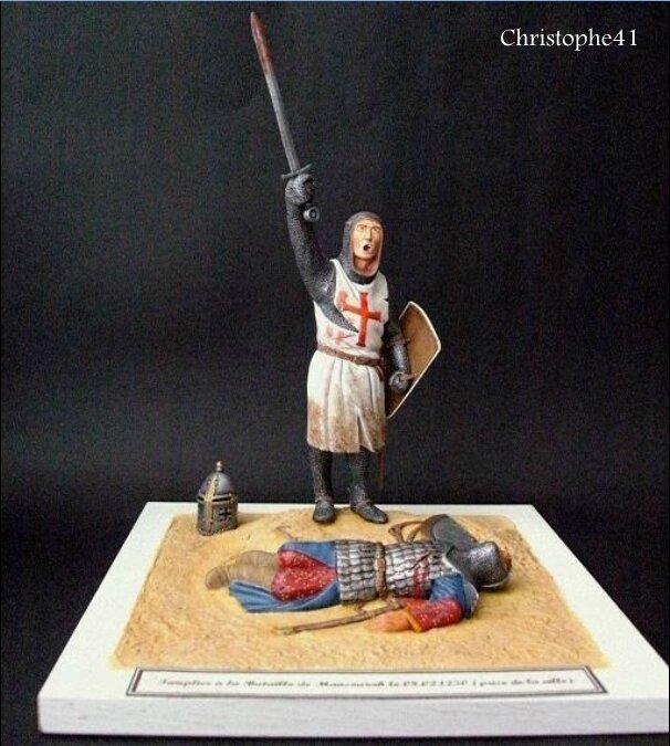 Templier bataille de Mansourah 1250 - PICT4654