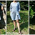 <b>Robe</b> <b>Alysse</b> Number Two en Chambray