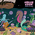Pochette de disque: vessel of love, de hollie cook, 2018, visuel de robin eisenberg