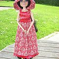 La robe Crochet-couture par Gloria