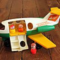 1 avion fisher price
