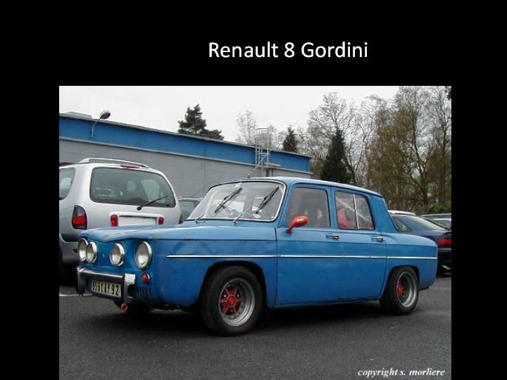 1959 - Rrenault 8 Gordini
