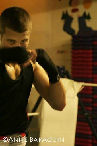 shadow boxing!