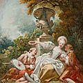 <b>Jean</b>-<b>Honoré</b> <b>Fragonard</b> (1732-1806), La coquette fixée, ca. 1755