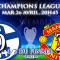 <b>Schalke</b> 0 - 2 Man Utd