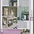 Votre maison, votre jardin n°374 - avril mai 2010 - page 49 - Le chat FLORENCE en zinc (1)