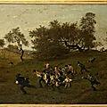 Les maraudeurs par Henri HARPIGNIES, présenté par <b>Vincent</b> HADOT