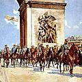 Défilé de la Victoire, 14 <b>Juillet</b> 1919