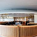 Le nouveau vaisseau <b>Air</b> <b>France</b>, le salon Business par Mathieu Lehanneur à CDG