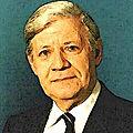 Helmut <b>Schmidt</b>, la conscience morale des Allemands