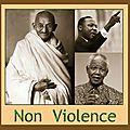 le concept de <b>non</b> <b>violence</b>