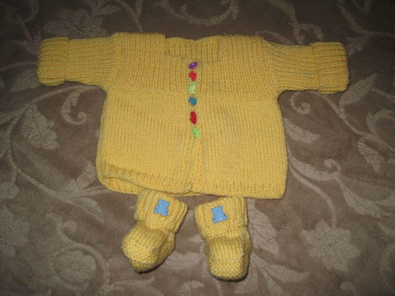 layette jaune