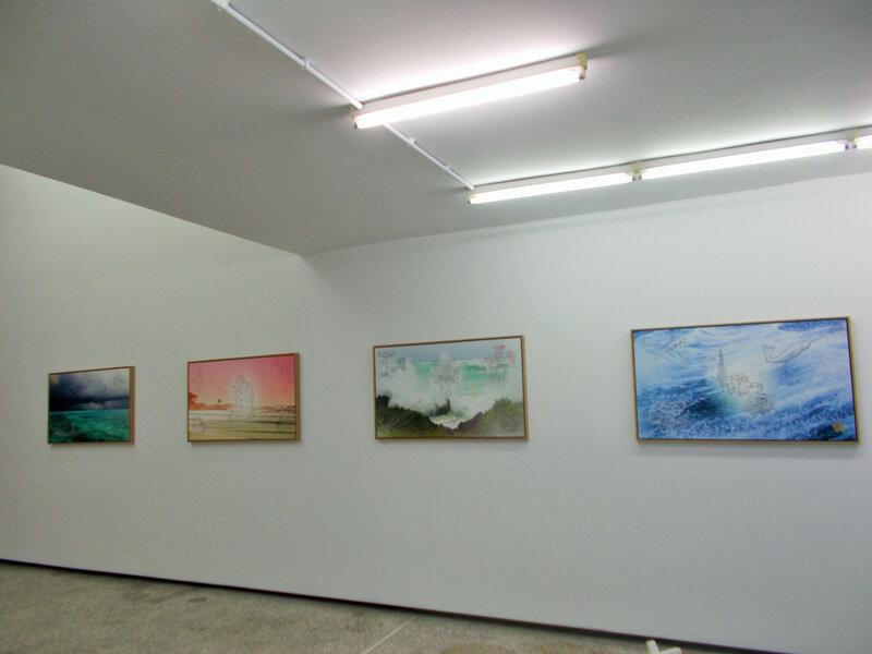 oil garggles tableaux vue ensemble