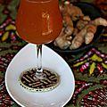 Gnamakoudji (jus de gingembre à la menthe et au citron)